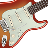 Melody Fusion Band Gear Giveaway 2014 prize:  Fender American Deluxe Stratocaster Electric Guitar (model # 011900)