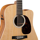 Melody Fusion Band Gear Giveaway: Martin & Co. Performing Artists Dreadnought Acoustic Electric Guitar (model # DCPA4RW)
