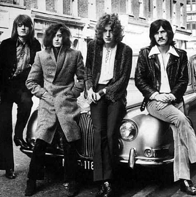 Led Zeppelin release final three studio albums