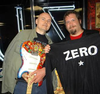 Matt Sams and Billy Corgan