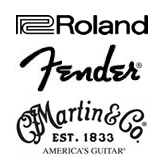 Roland, Fender, Martin&Co